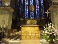 004 Blick in die Chorhalle vom Aachener Dom