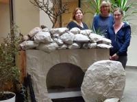 B von links Marianne Majewski, Elke Hertterich, Manuela Krug; es fehlt Sabine Mildner