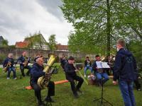 02 musikalische Gestaltung durch die Jugendblaskapelle Stadtlauringen