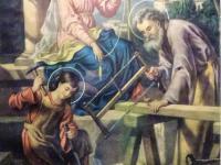 A 003 Haupt der Heiligen Familie (Bild aus der Kapelle im Franziskushof, Schloß Craheim)