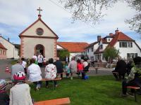A Maiandacht an der Kapelle an der Schäferei