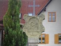 208 restaurierter Bildstock Oberlauringer Weg