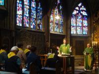 005 Gottesdienst in der Nikolauskapelle des Doms